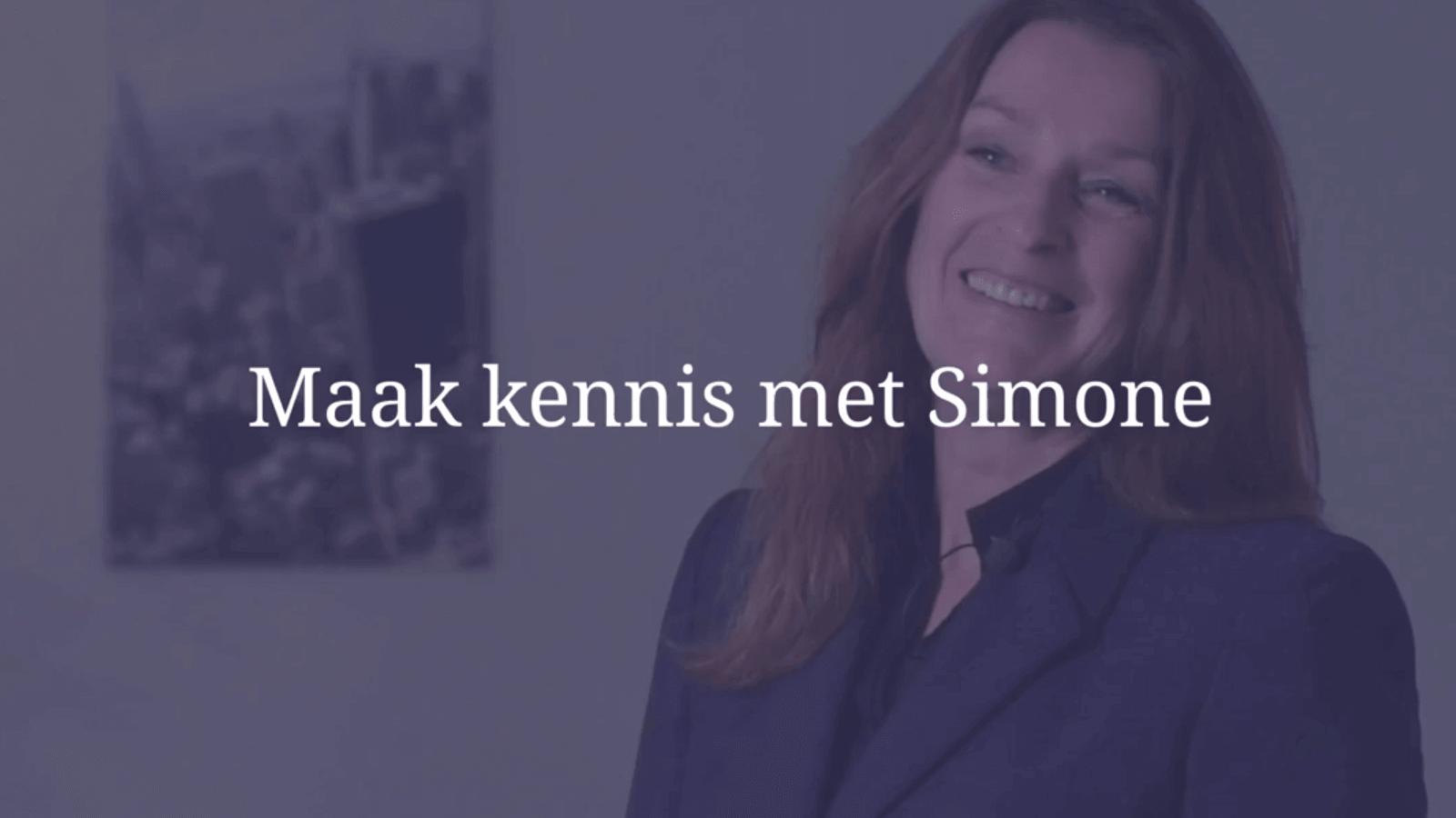 YouTube Screenshot van Simone Maten