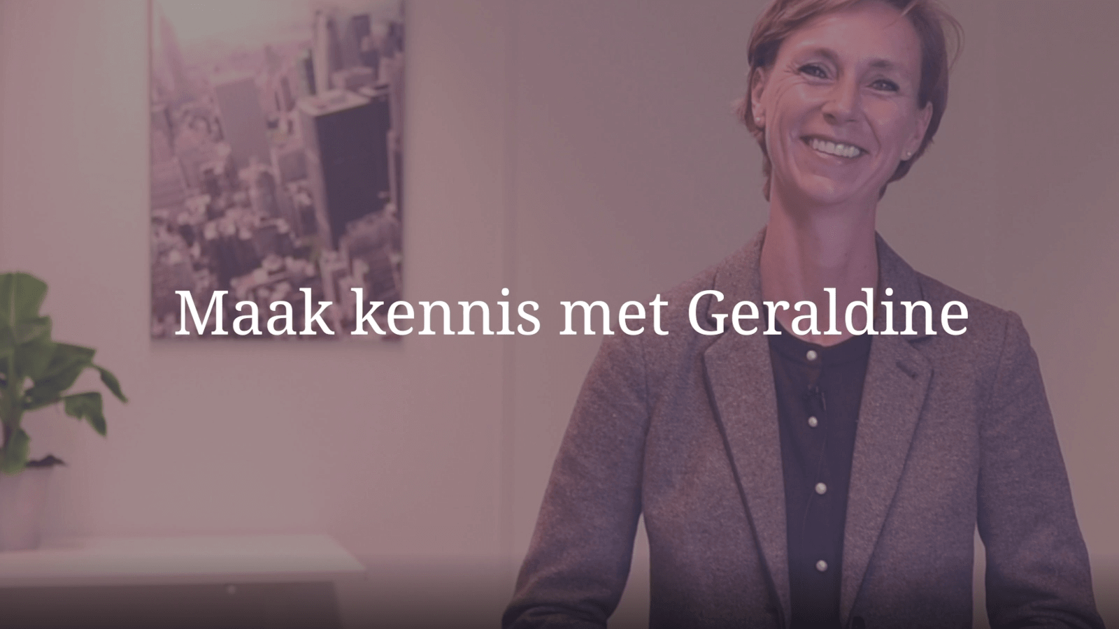 YouTube Screenshot van Geraldine