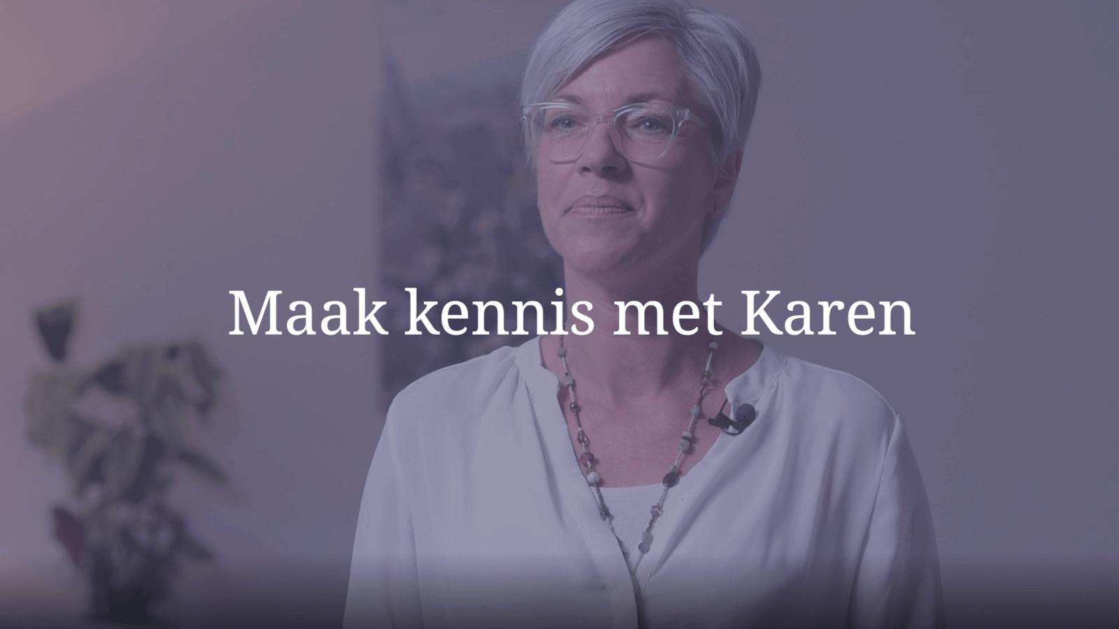 YouTube Screenshot van Karen Verhoef