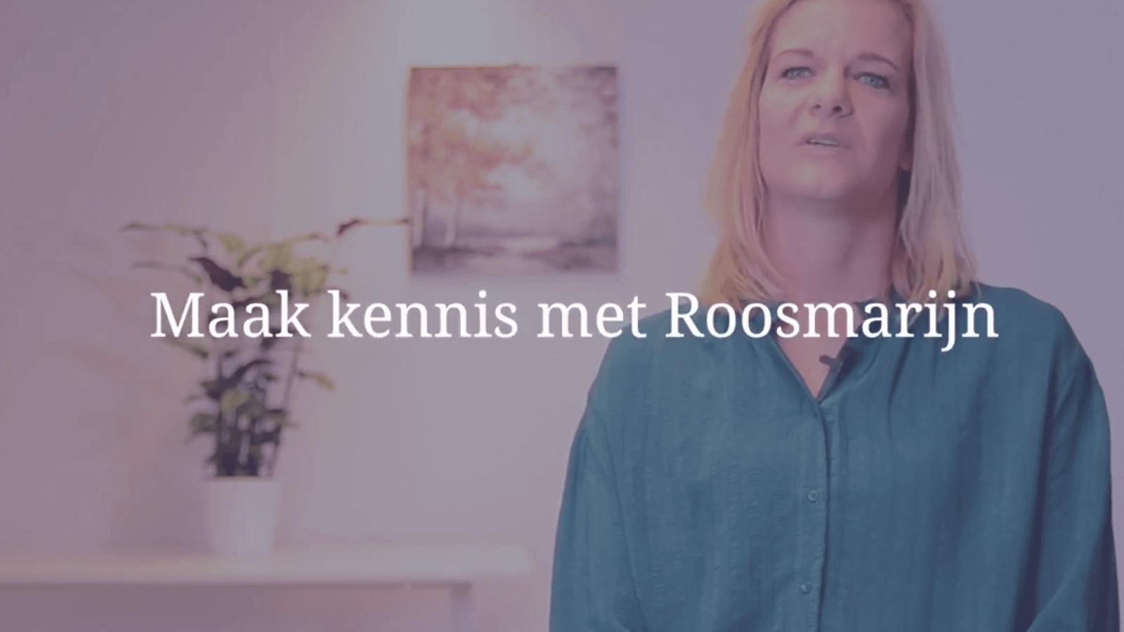 YouTube Screenshot van Roosmarijn Groenendijk